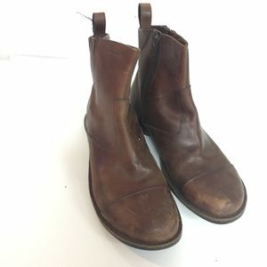 Merrell Brown Leather Waterproof Boots sz 8